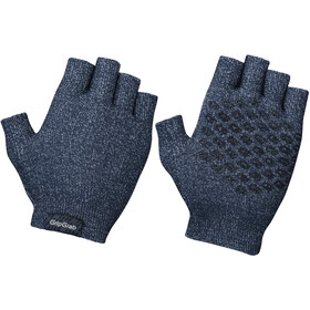 GripGrab Freedom Knitted Cycling Gloves navy